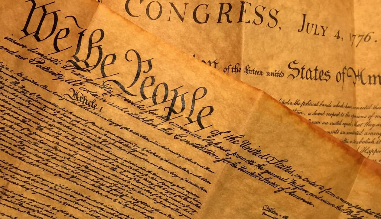 Copy of Preamble of the Constitution